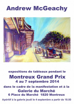 Montreux Grand Prix exposition